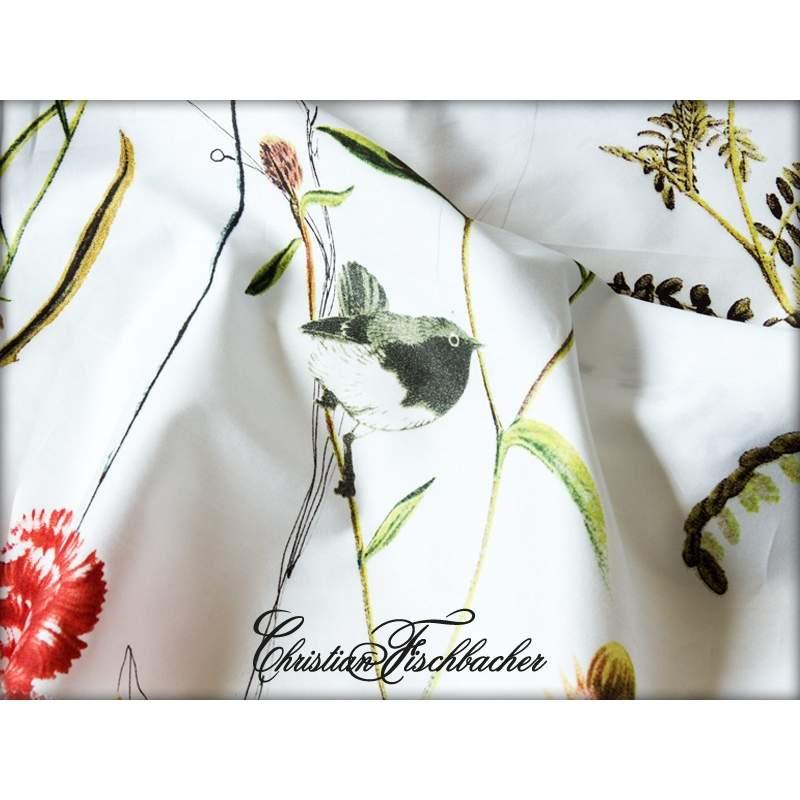 christian fischbacher bettw sche flora satin. Black Bedroom Furniture Sets. Home Design Ideas