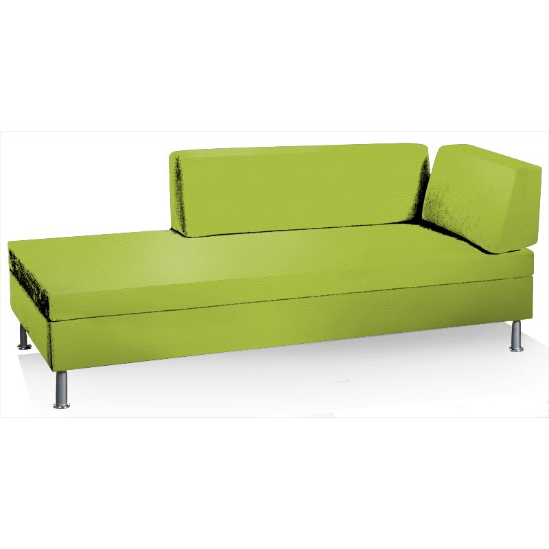 Swissplus singolo divano letto completo piedi rotondi for Letto divano singolo