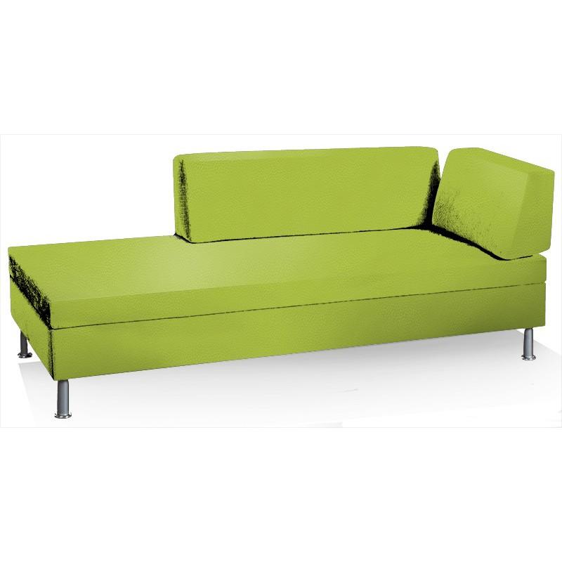 swissplus singolo sofa lit complet pieds rond. Black Bedroom Furniture Sets. Home Design Ideas