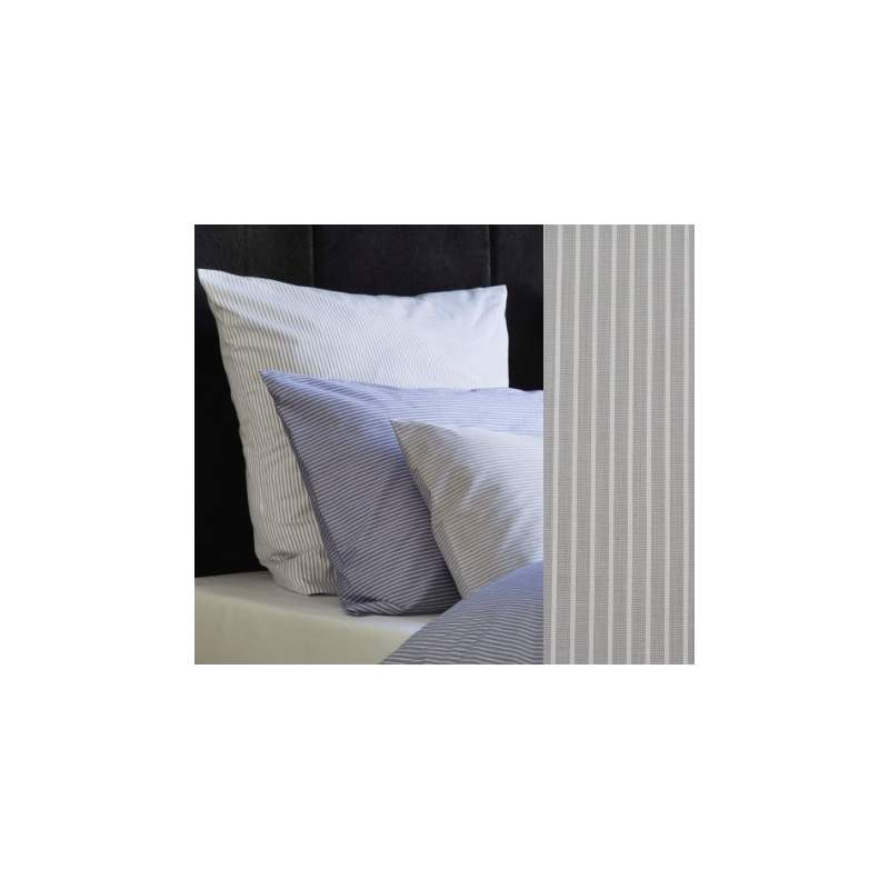 christian fischbacher bettw sche fil fil streifen. Black Bedroom Furniture Sets. Home Design Ideas