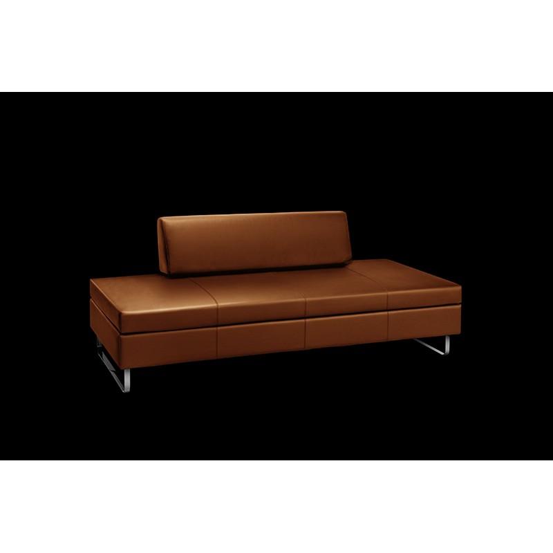 Swissplus Doppio Sofa Bed Complete Skate Feet Inox
