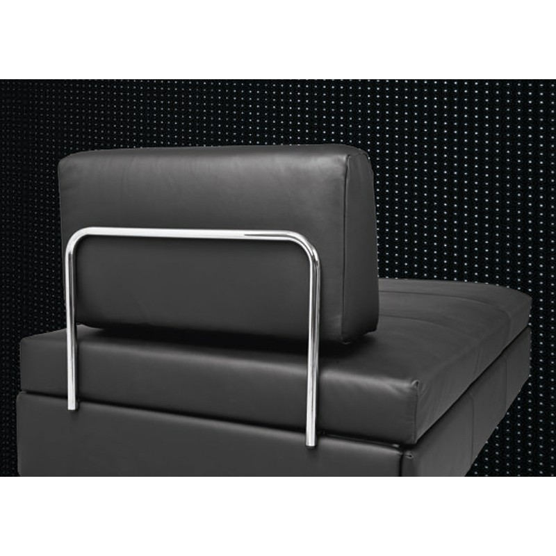 Swissplus doppio sofa bed complete feet skid chromed for Complete divan beds