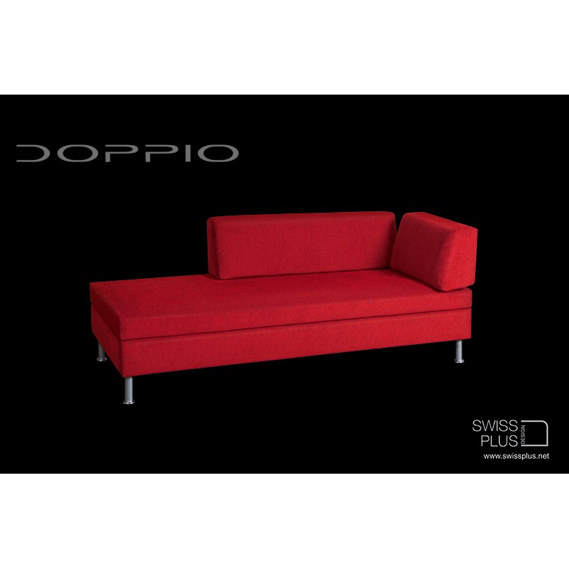 Swissplus doppio divano letto completo piedi rotondi for Divano letto doppio