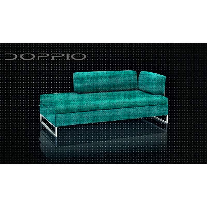 swissplus doppio bettsofa komplett rahmen f sse in edelstahl. Black Bedroom Furniture Sets. Home Design Ideas