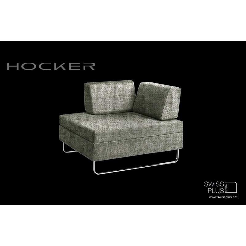 swissplus hocker bett komplett kufenf ssen verchrom. Black Bedroom Furniture Sets. Home Design Ideas