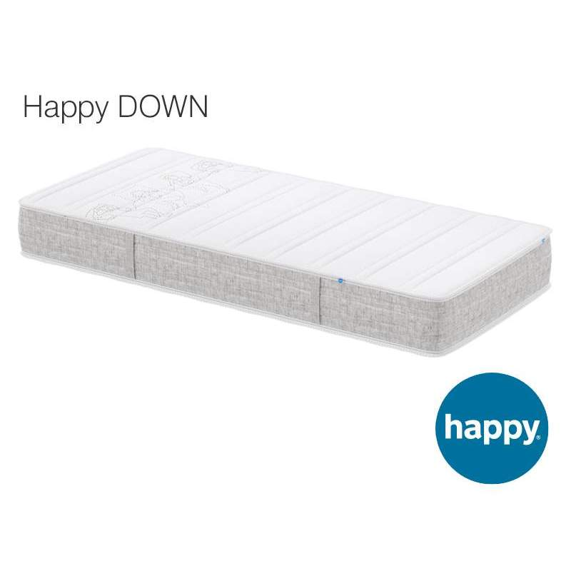 matelas happy down. Black Bedroom Furniture Sets. Home Design Ideas